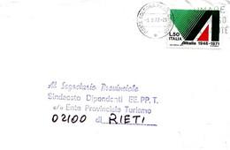 ITALIA - 1972 BOLOGNA Fumare è Dannoso Alla Salute - Ann.targhetta + Retro Ann. RIETI Per Impostare Non Aspett..- 1692 - Polucion