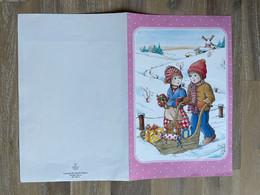 Nieuwjaarsbrief - SAMMY (Verstraeten) / BERG 1989 (14 X 21.5 Cm.) - Other