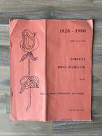 Diamanten Huwelijksjubileum - Felix En Maria VERHOEVEN - DE CREMER (1920 - 1980) / PERK 1980 / (21 X 26 Cm.) / 8 Blz. - Other