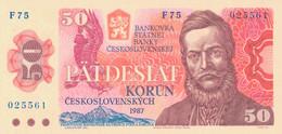 K27 - TCHECOSLOVAQUIE - Billet De 50 KORUN - Année 1987 - Ludovit Stur - Czechoslovakia