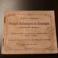 Morialmé (BELGIQUE)société Générale Produit Réfractaires Et Céramiques à Moroalmé Livre 41 Pages - Zonder Classificatie