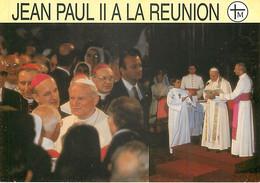 JEAN PAUL II A LA REUNION - 10 Cartes Postales - Andere