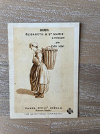 SOURCES ÉLISABETH & Ste MARIE à CUSSET / VICHY Chromo (1880) - Rue St-Lazare PARIS - 65 X 90 Mm - Sonstige
