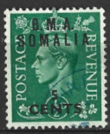 British Middle East Forces Somalia 1948 SG  S10  5c Mounted Mint - Autres
