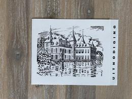 UITNODIGING Reuze Vlaamse Kermis - Kasteel De Ribaucourt PERK 1963  Sint Cajetanus Instituut / Dexon Boys / Tenierskring - Other