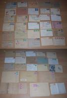 Bizone Ca 1948-51 Sammlung 50 Briefe Bauten - Zone Anglo-Américaine