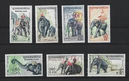 LAOS 1958 YT N°44 à 50 N* TB Voir Scan - Laos