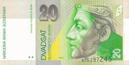 K27 - SLOVAQUIE - Billet De 20 KORUN - Année 1993 - Slovacchia