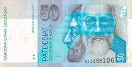 K27 - SLOVAQUIE - Billet De 50 KORUN - Année 1993 - Slovacchia