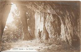1940 - GIGNY - La Grotte - Sonstige Gemeinden