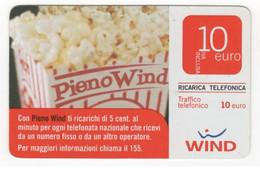 "Ricarica WIND ""PIENO WIND"", Taglio 10 Euro, Scadenza 30/06/2011 (data In Grande),usata - GSM-Kaarten, Aanvulling & Voorafbetaald"
