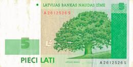 K27 - LETTONIE - Billet De 5 LATI - Année 2006 - Latvia