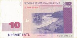 K27 - LETTONIE - Billet De 10 LATI - Année 2000 - Letonia