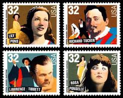 Etats-Unis / United States (Scott No.3157a - American Music Series) [**] Set - Unused Stamps