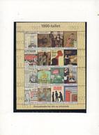 DK ** 2000 20.Jahrhundert Sheet - Blokken & Velletjes