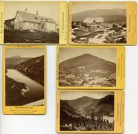 RIESENGEBIRGE X 5 CDV 1885-1886 - Other