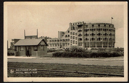 Westende - Plage - Hôtel Belle-Vue - Arrêt Tramway - Circulée - Edit. Thill - 2 Scans - Westende