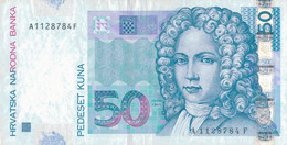 K27 - CROATIE  - Billet De 50 KUNA - Année 2002 - Croatie