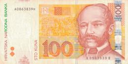 K27 - CROATIE  - Billet De 100 KUNA - Année 2002 - Croatie