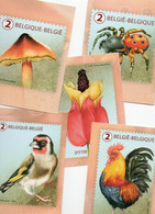 De 5 Kaarten Van De Uitgifte Natuurlijke Driekleur Van De Bpost (Marijke Meersman - Unclassified