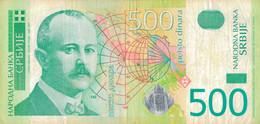 K28 - SERBIE  - Billet De 500 DINAR - Année 2004 - Serbia