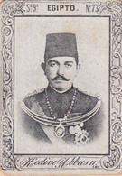 EGIPTO, KEDIVE ABBAS II. SERIE 9 Nº73, 1880's RARE VIGNETTE 3X4.5CM.- LILHU - Case Reali