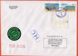 CILE - CHILE - 2007 - 2 X 250$ Arica Y Parinacota + 850$ Postage Paid - DH - Registered - Medium Envelope - Viaggiata Da - Cile