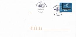 Sur PAP Magritte Le Retour - Cachet 28 éme Olympiade Colombophile - Liévin - 62 -  16 Février 2003 - Commemorative Postmarks