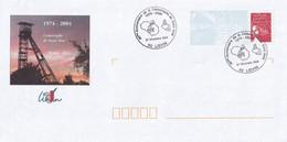 PAP  - Liévin - 62 -  1974 - 2004  - Catastrophe De Saint Amé - 30 Ans Déjà... - Cachet Commémoratif 27/12/2004 - Prêts-à-poster:Overprinting/Luquet