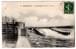 CPA Dordogne Bergerac 4. Le Barrage Echelles à Poisson (passage Du Saumon) écluse - Bergerac