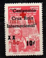 N831F - PANAMA - 1963 - SC#: CB7 - MH - OVPTD. INTERNATIONAL RED CROSS CENTENARY - Panama