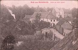 ! 1907 Ansichtskarte Gruß Aus Grevenbroich, Am Alten Schloß - Grevenbroich