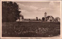 ! 1912 Ansichtskarte Aus Georgenswalde Bei Rauschen In Ostpreußen, Wasserturm, Otradnoje - Ostpreussen