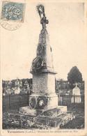 EURE ET LOIR  28  TERMINIERS - MONUMENT DES SOLDATS MORTS EN 1870 - MILITARIA, GUERRE 1870 71 - Andere Gemeenten