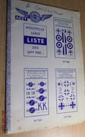 ABT21 Très Rare Décal Années 60/70 ABT : CATALOGUE DES DECALS ABT NOUVELLE SERIE 100 à 138 - Decalcografie