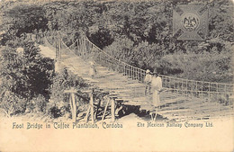 Mexico - CORDOBA - Foot Bridge In Coffee Plantation - Ed. The Mexican Railway Co. Ltd. - Mexico