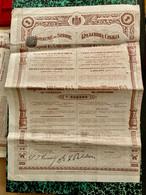 ROYAUME  De  SERBIE  EMPRUNT   4 1/2%  1906 --------- Obligation  De  500 Frs - Unclassified
