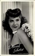 CPA Schauspielerin Dinah Shore, Portrait - Acteurs