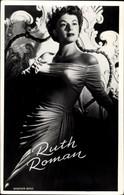 CPA Schauspielerin Ruth Roman, Portrait - Acteurs