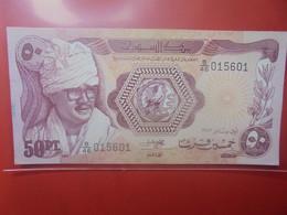 SOUDAN 50 PIASTRES 1981 Peu Circuler (B.24) - Soudan