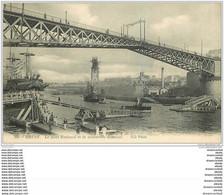 29 BREST. Pont National Et Passerelle Flottante - Brest