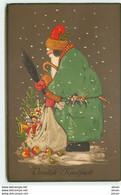 N°14994 - Fritz Baumgarten - Vrolijk Kerstfeest - Père Noël Avec Son Sac Rempli De Jouets - Altri