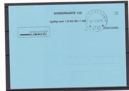 Belgique - Carte De 1991 - Oblit Elsenborn - Cachet Avec 2 Croix - - Covers & Documents