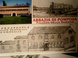 ABBAZIA POMPOSA PROSPECTUS PALATII PRAETORIALIS POMPOSIAE VB2021 TARIFFA B 150 ANN CIRCOLO S PIETRO IE8638 - Ferrara