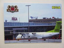 Latvia Riga International Airport AirBaltic Modern PC - Aerodromes