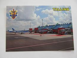 Estonia Tallinn Lennart Meri Tallinn Airport Estonian Air Modern PC - Aerodromes