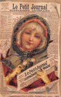 """03004 """"LE PETIT JOURNAL - SUPPLEMENT LITTERAIRE"""" ANIMATO, CALENDARIETTO 1889 - CROMOLITO - Small : ...-1900"""