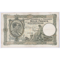 BILLET BELGIQUE 1000 FRANCS   08-09-1939 L'art Des Gents AVIGNON - 1000 Franchi & 1000 Franchi-200 Belgas