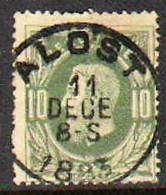 Belgique - N° 30 - Oblitération Centrale ''ALOST '' - 1869-1883 Leopold II