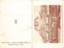 """03013 """"VEDUTA PROSPETTICA DEL CASTELLO DEL VALENTINO.... - TORINO""""   CALENDARIETTO 1968 - CROMOLITO - Small : 1961-70"""